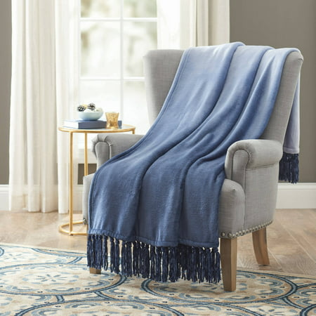 Better Homes and Gardens Velvet Plush Fringe 50