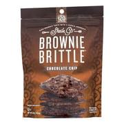 Sheila G's Brownie Brittle - Chocolate Chip - Case of 12 - 5 oz.