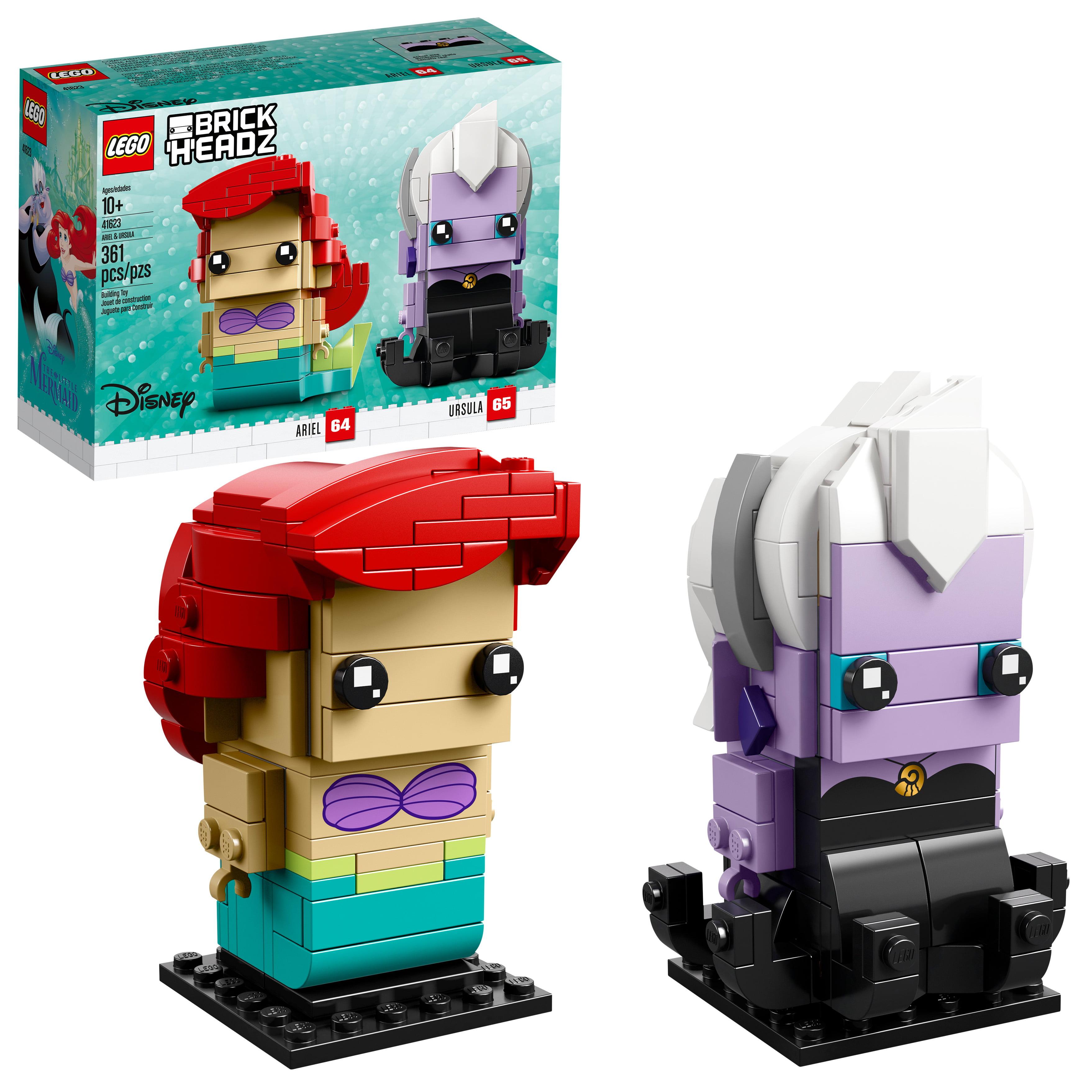LEGO BrickHeadz Ariel & Ursula 41623 Building Set (361 Pieces)