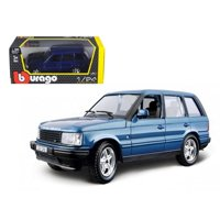 Bburago 22020bl Land Rover Range Rover Blue 1-24 Diecast Car Model