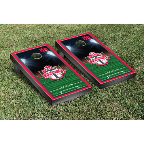 Victory Tailgate MLS Team Soccer Field Version 1 Cornhole Game Set