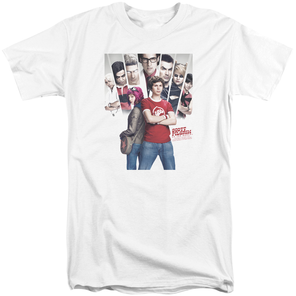 Scott Pilgrim Pilgrim Poster Mens Big and Tall Shirt