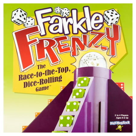 Play Monster Farkle Frenzy The Race-to-the-Top Dice-Rolling - Dice Rolling Box