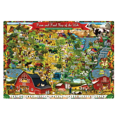 T.S. Shure - Farm and Food Magnetic Playboard and Puzzle