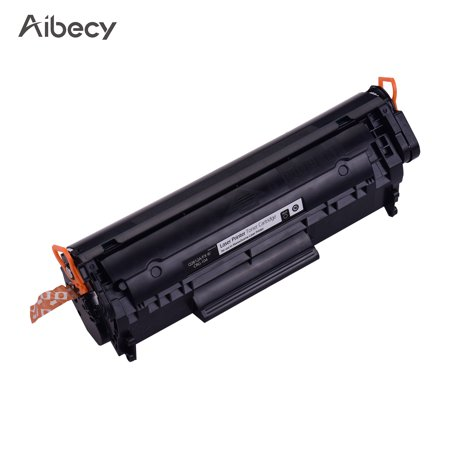 Aibecy Black Compatible Q2612A/CRG-104/FX-9 Toner Cartridge Replacement for HP LaserJet 1010/1012/1015/1018/1020/3050/M1319f/M1005 Canon IC MF4010/4012/4120/4150/4270 Printer - image 1 of 7