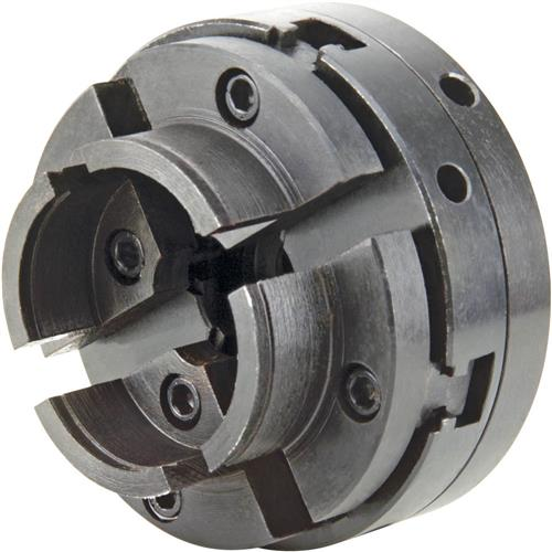 """Grizzly G8784 4-Jaw Chuck For Round Pieces - 1"""" x 8 TPI"""