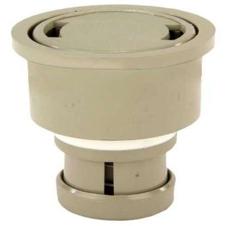 Replacement Cleaning Head - Zodiac 5-9-526 Pebble Gold High Flow Cleaning Head with 2-Inch Collar and Cap Replacement for Zodiac Jandy Caretaker In-Floor Pool and Spa Cleaning System