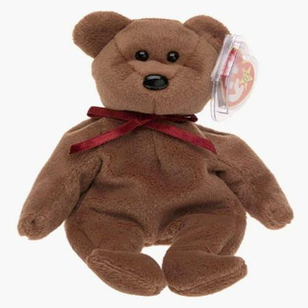 Ty Beanie Babies - Teddy the New Face Bear