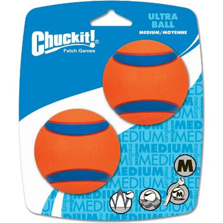 Ball Chuck (Chuckit! Med Ultra Ball 2 Pack, Diecast Model By Chuck It From USA)
