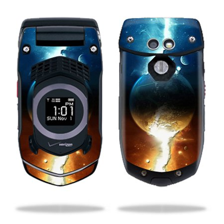 Skin Decal Wrap For Casio Gzone Rock C731 Cell Phone Sci Fi