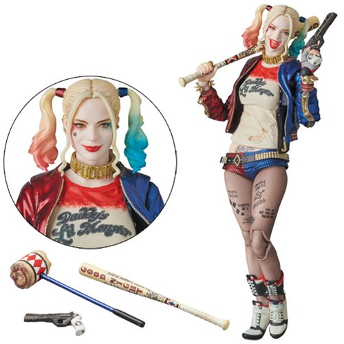Suicide Squad Harley Quinn MAF EX Action Figure by Diamond Comic Dist.