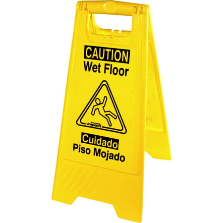 Genuine Joe Universal Graphic Wet Floor Sign (GJO85117)