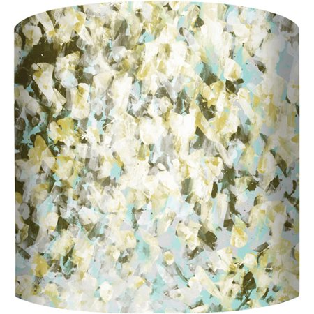 10 drum lamp shade green abstract walmart 10 drum lamp shade green abstract aloadofball Images
