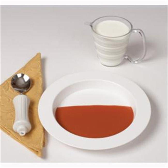 Ableware Ergo Plate & Mug Set, White