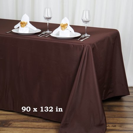 Balsacircle 90 Quot X 132 Quot Rectangular Polyester Tablecloth