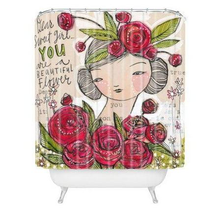 Deny Designs Cori Dantini Dear Sweet Shower Curtain 69 X 72