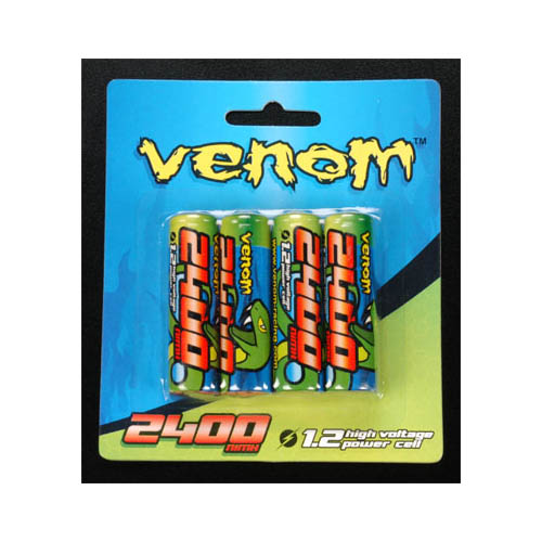 1521 2400mAh AA Rechargeable Battery (4) Multi-Colored