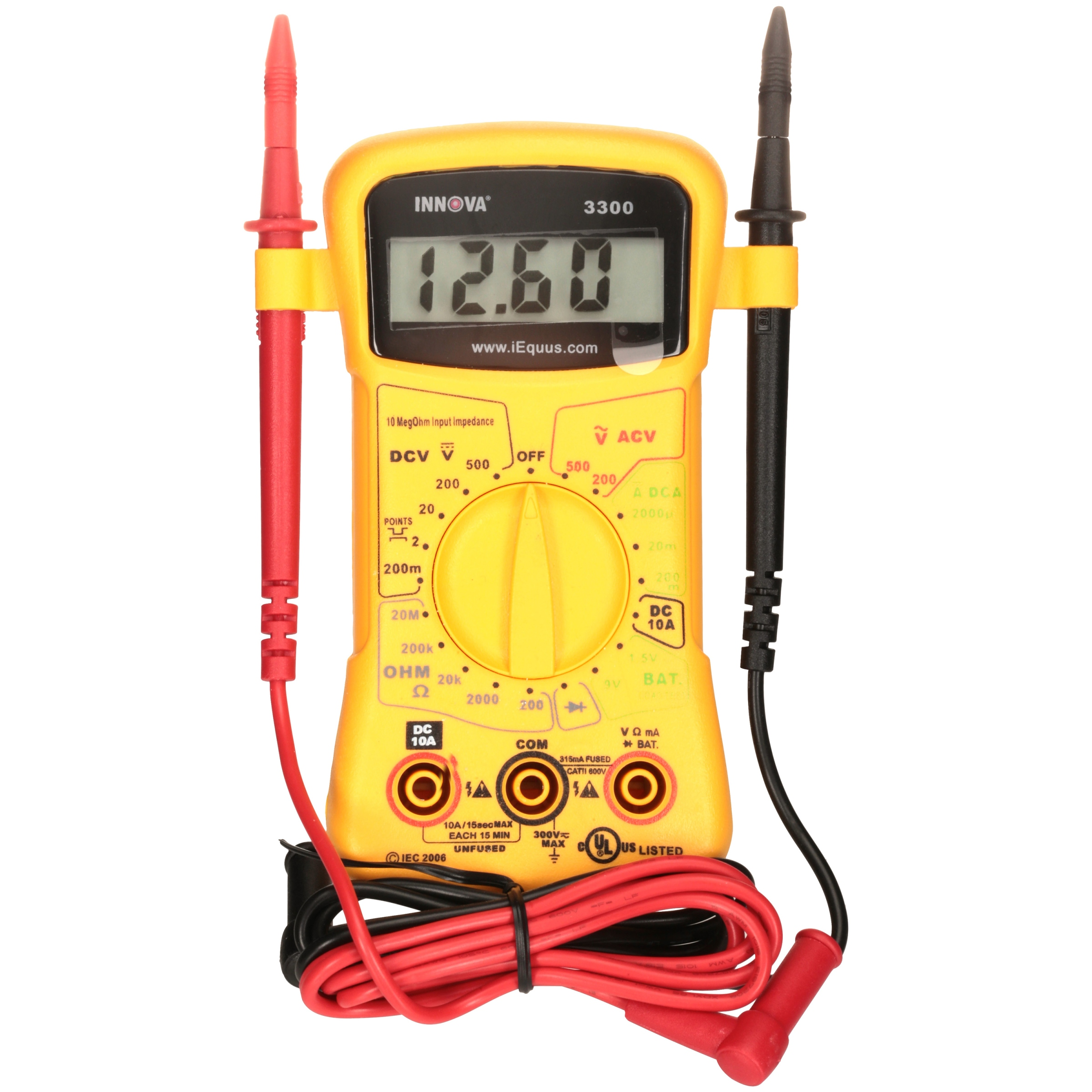 Innova® Equus 3300 Digital Multimeter™ Reader