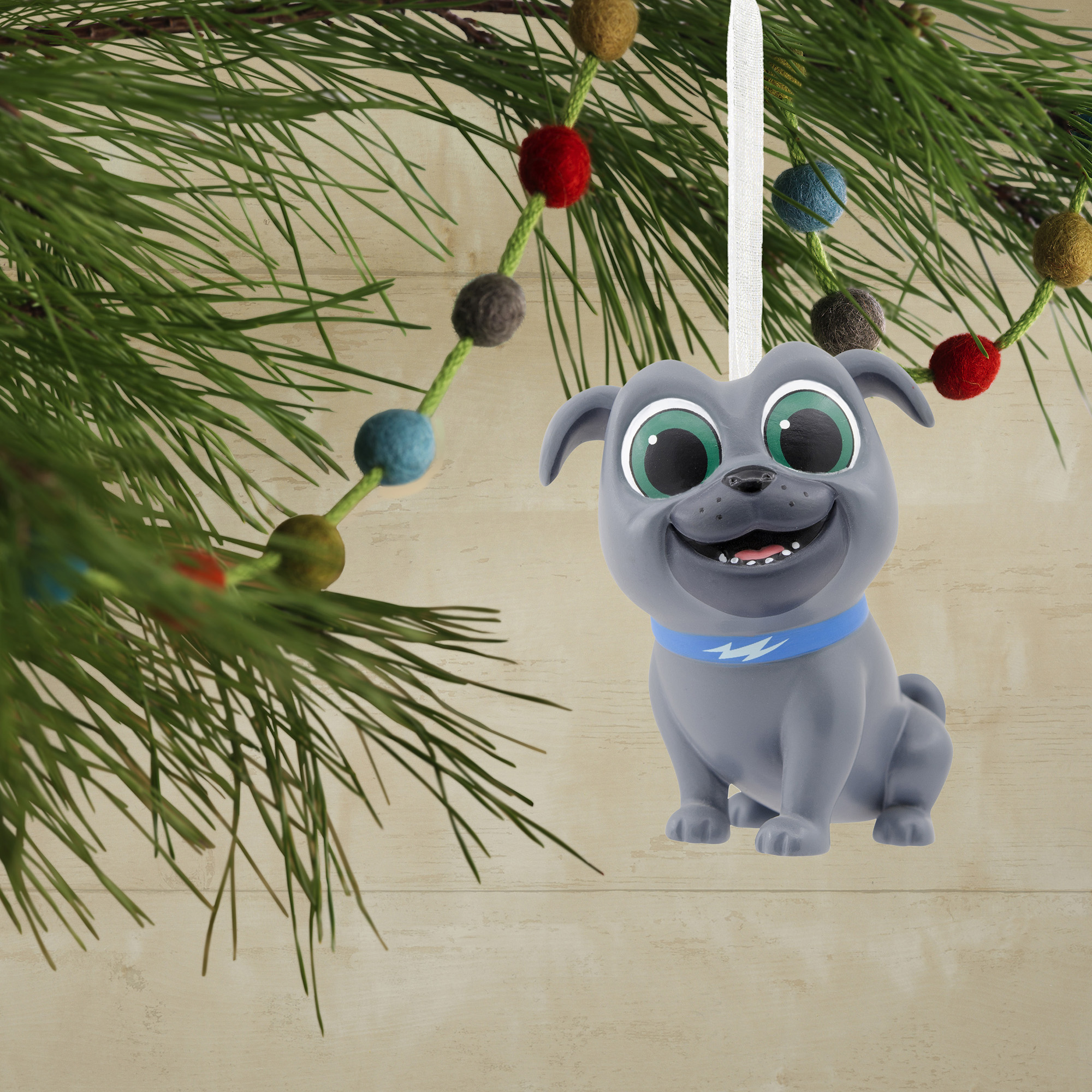 Hallmark Disney Junior Puppy Dog Pals Bingo Christmas Ornament