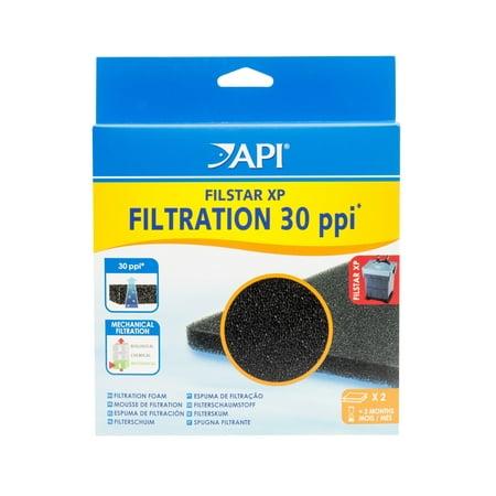 Filstar Micro Filtration Pads - API Filstar Filtration Foam, Aquarium Canister Filter Filtration Pads, 2-Count