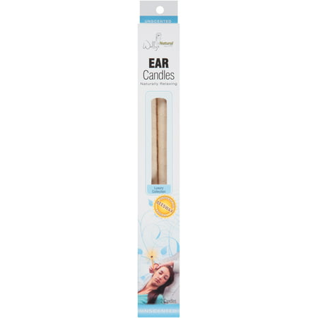 Wally's Natural Unscented Luxury Collection Ear Candles, 2 - Ear Candles Cvs
