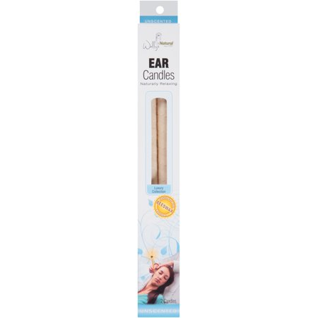 Wally's Natural Unscented Luxury Collection Ear Candles, 2