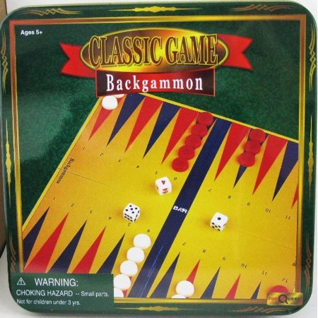 Backgammon Classic Game by Toy Quest