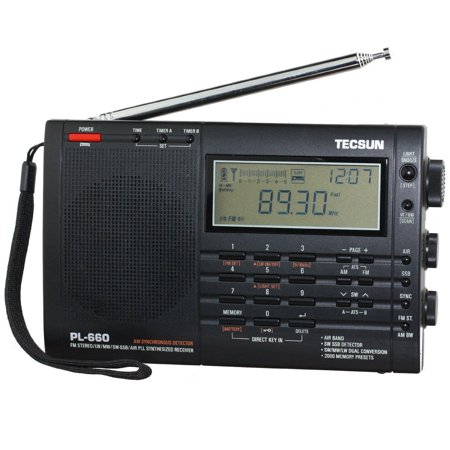 Tecsun PL660 AM FM SW Air SSB Synchronous Radio (Best Am Fm Sw Radios)