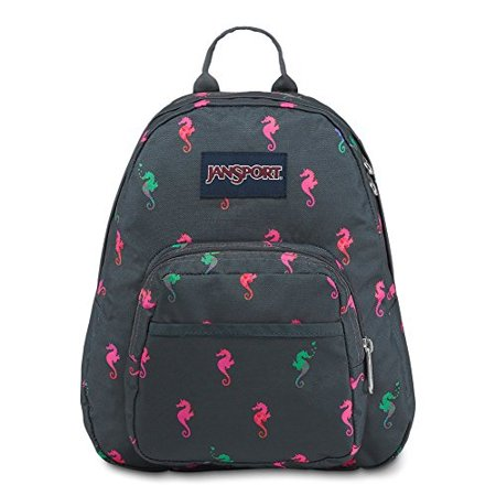 JanSport - jansport half pint mini backpack - dark slate seahorse -  Walmart.com d51b78f312