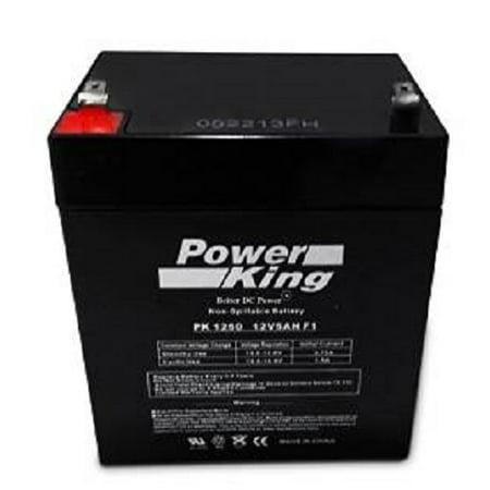 Battery Door Slate (Craftsman Garage Door Battery 53918 Replacement Battery )