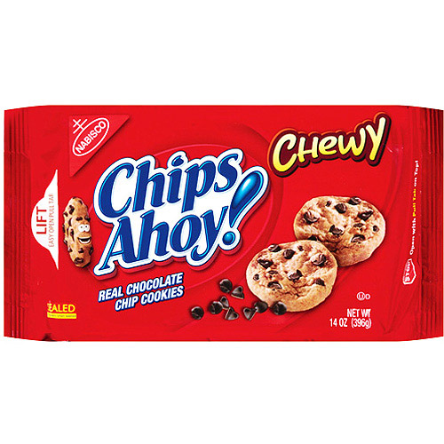 Nabisco Chips Ahoy Chewy Chocolate Chip Cookies, 14 oz