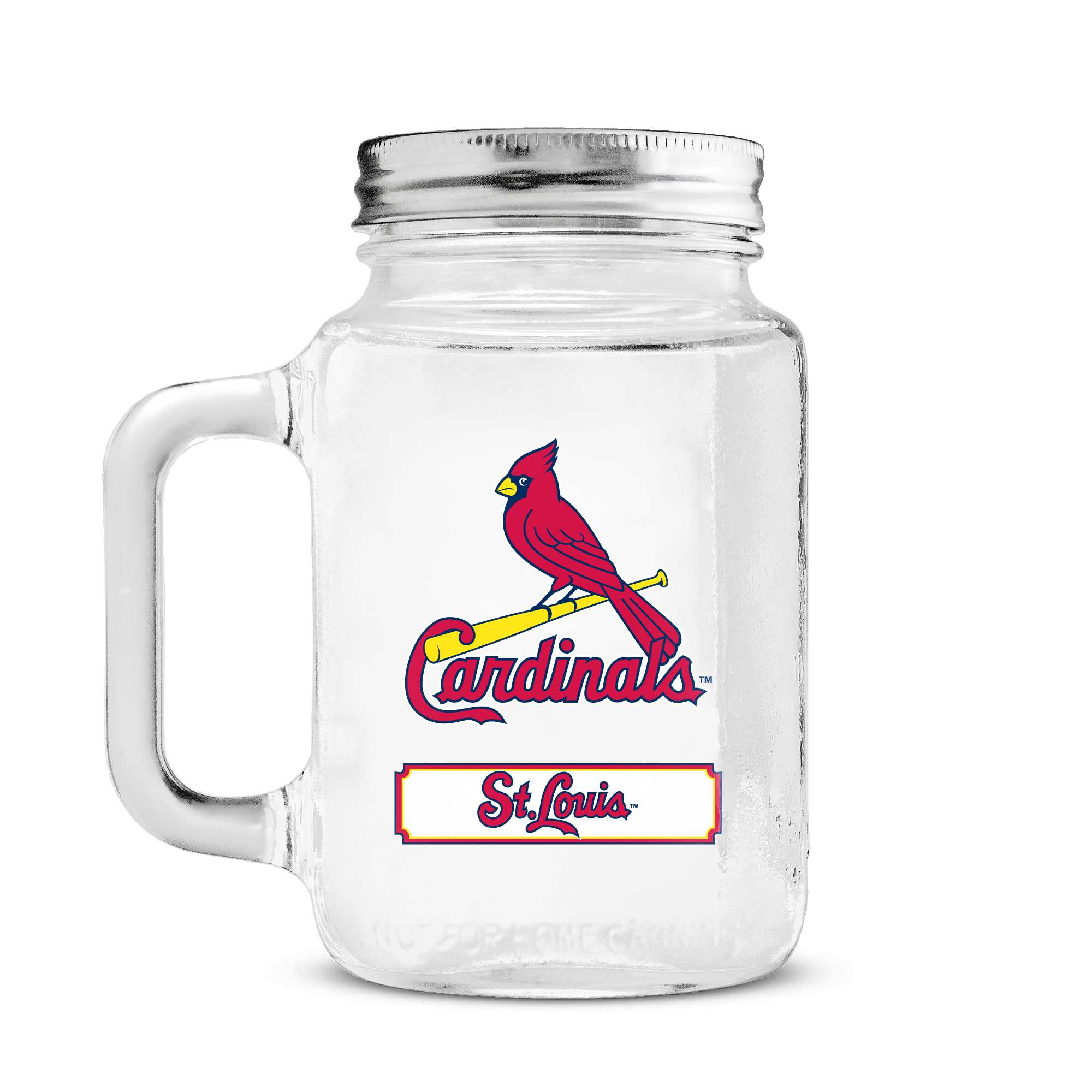 Duckhouse 16 Ounce Mason Jar - St. Louis Cardinals