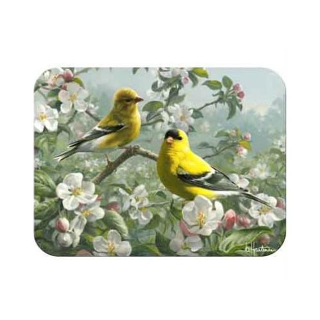 McGowan TT92372 TufTop Orchard Goldfinch Cutting Board- Medium