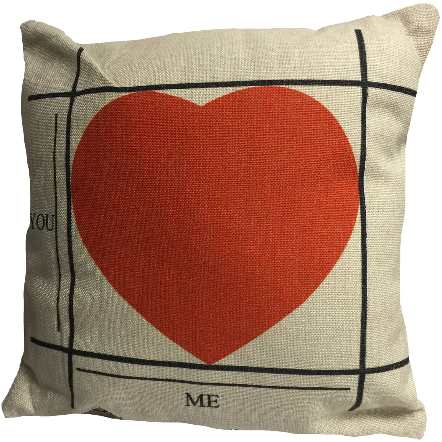 Creative Motion Cushion with Heart Design