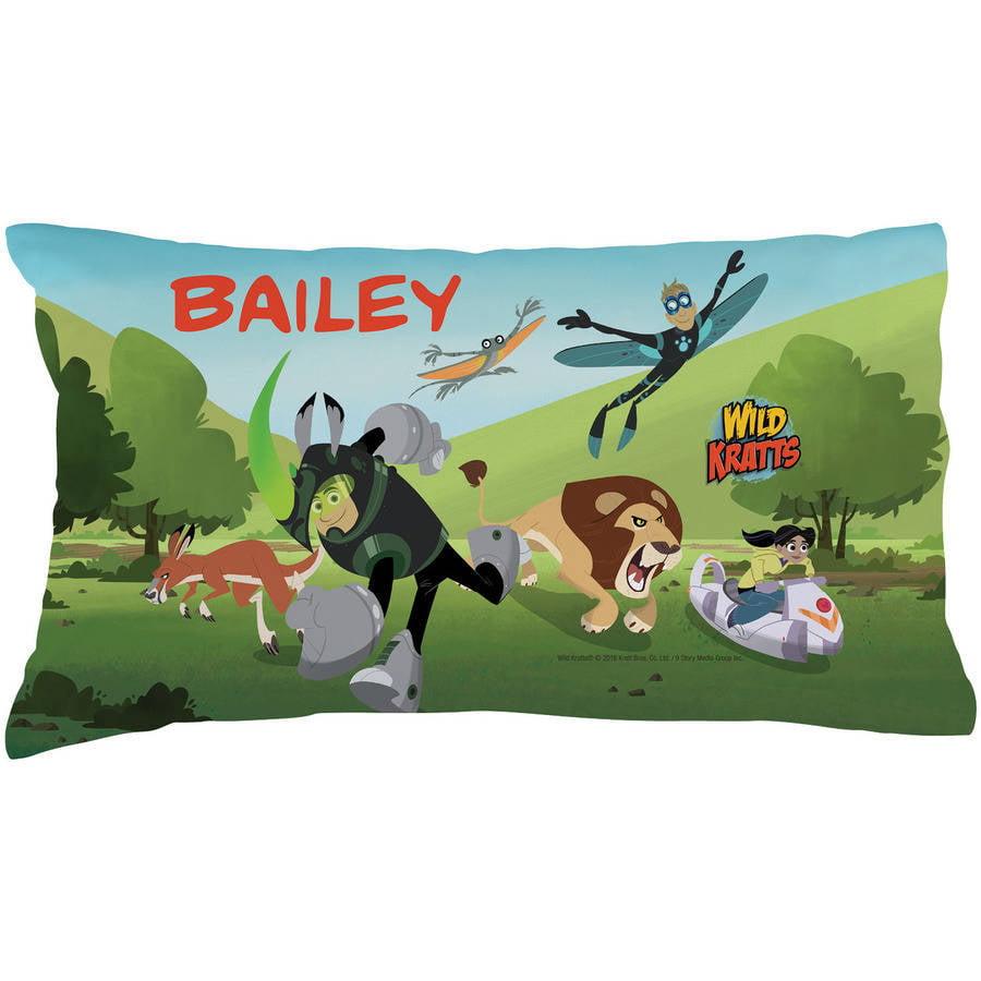 Personalized Wild Kratts Adventure Pillowcase