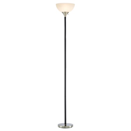 Adesso Gander Floor Lamp - Black
