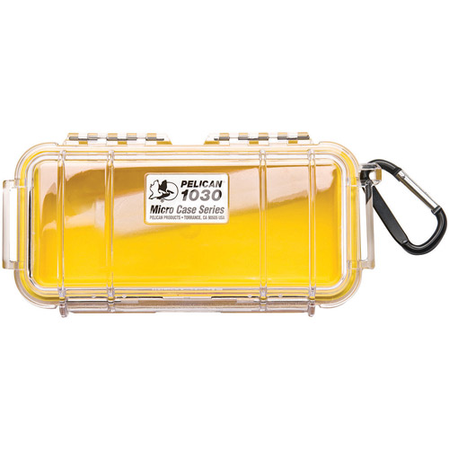 Pelican 1030-026-100 Micro Case With Clear Top 1030 [blue]