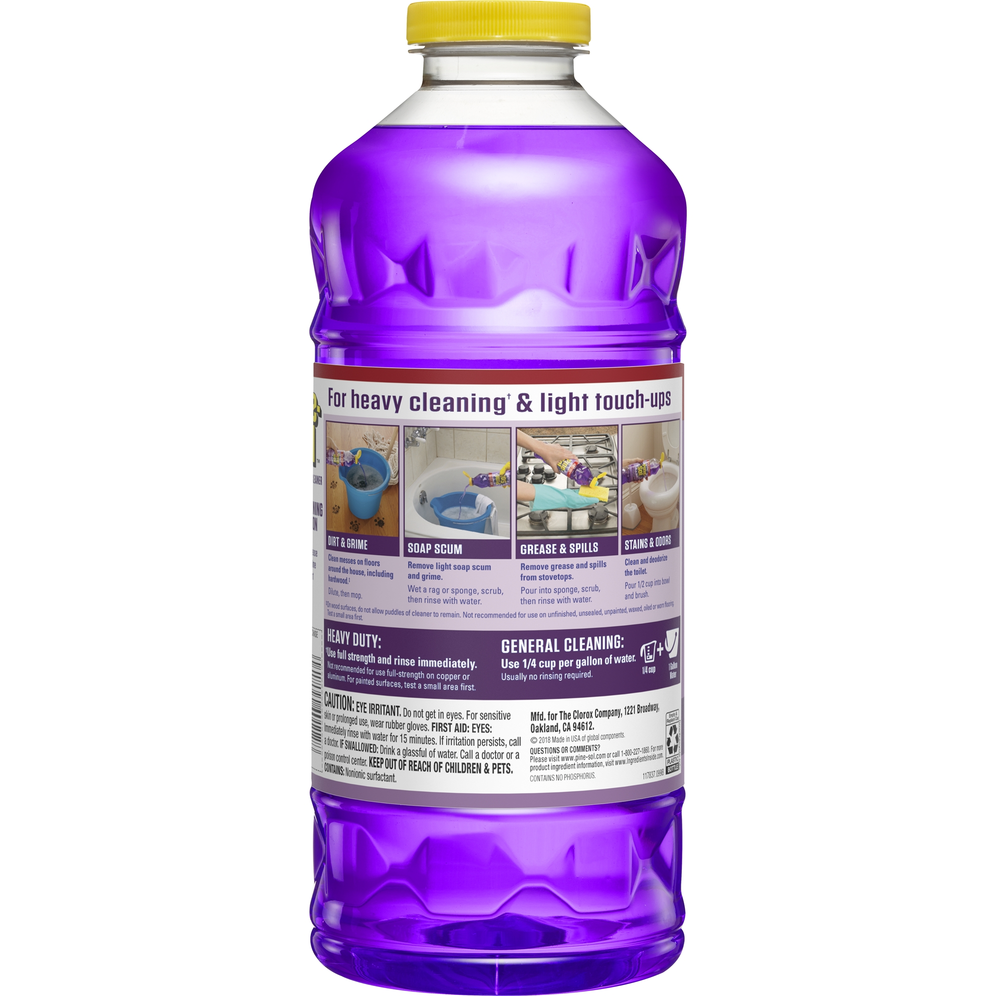 Peachy Pine Sol All Purpose Cleaner Lavender Clean 60 Ounce Uwap Interior Chair Design Uwaporg