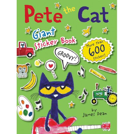 Pete the Cat Giant Sticker Book - Giant Sticker Packs