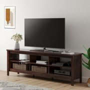 """Farmhouse TV Stands for 75 inch TV Media Console Table Entertainment Center for Bedroom Living room, 70"""""""