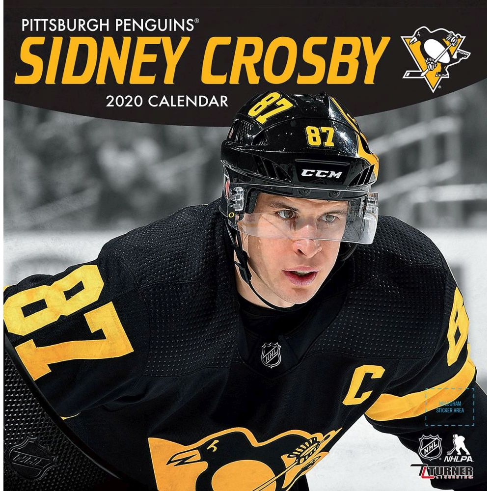 Pittsburgh Penguins Favorite Halloween Candy 2020 Pittsburgh Penguins Sidney Crosby Player Wall Calendar 2020