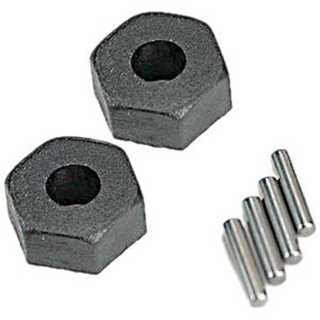 Traxxas 1654 Wheel Hubs with Axle Pins (pair)
