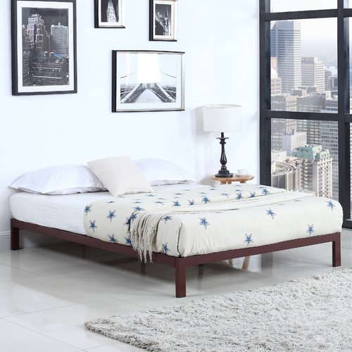 Madison Home USA Modern Metal Platform Bed Frame