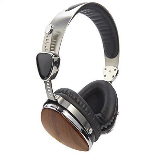 Auvio 3301505 Wood Headphones with Mic Limited Edition