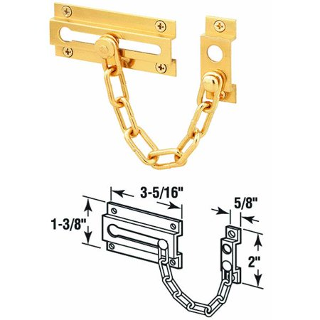 Door Guard Chain Sb Brass