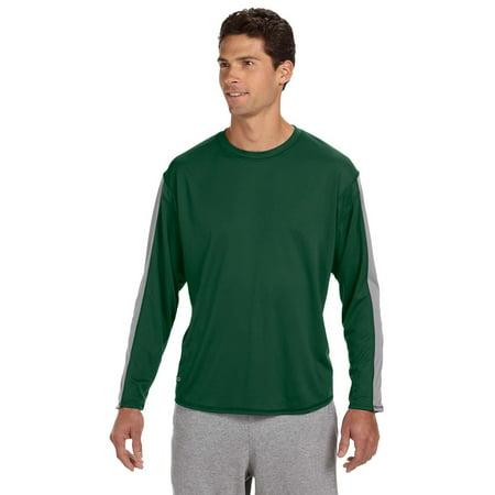 b736c88e0 Russell Athletic - Russell Athletic 6B5DPM Dri-Power Long-Sleeve  Performance T-Shirt - Walmart.com
