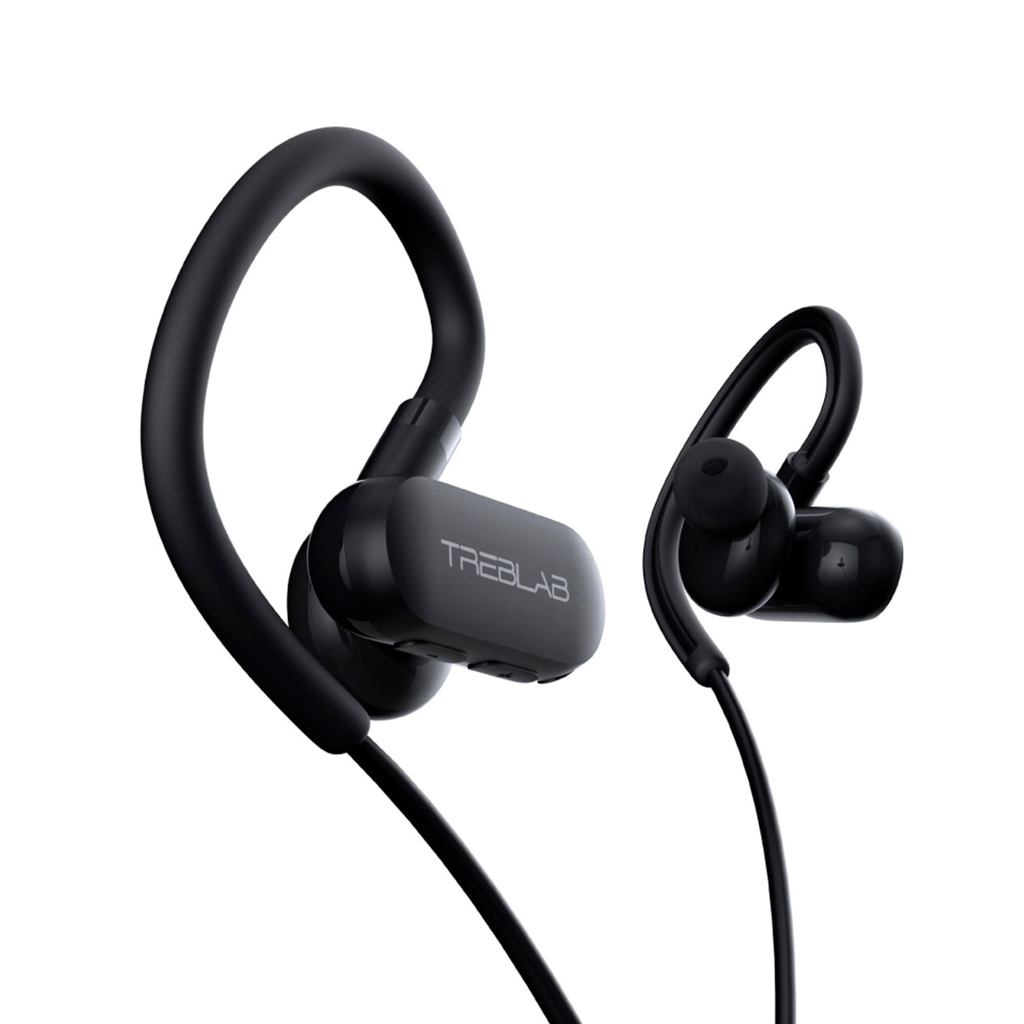 f127e625b98 TREBLAB xRun - Sports Wireless Earbuds for Running, Light Workout  Headphones Bluetooth 5.0, IPX4 Waterproof Sweatproof Gym Earphones, Noise  Cancelling ...