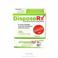 DisposeRx Single-Use Drug Disposal Packets, 30 Ct