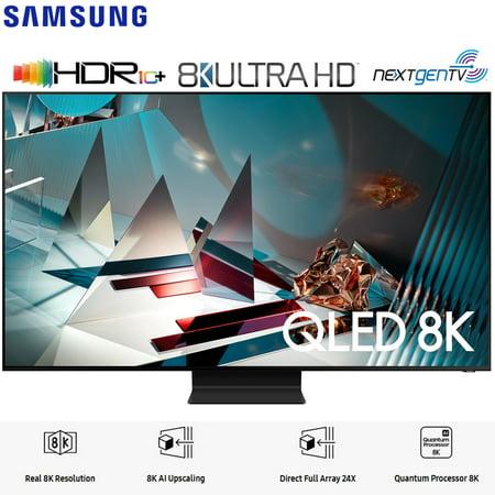 """Samsung QN65Q800TA 65"""" Q800T QLED 8K UHD HDR Smart TV (2020 Model) - (Renewed)"""