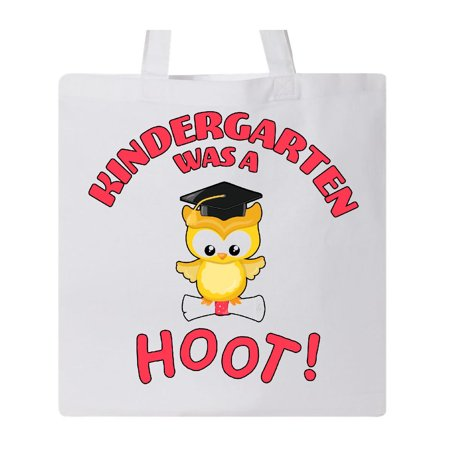 Kindergarten Was a Hoot! cute graduation owl Tote Bag - Owl Tote